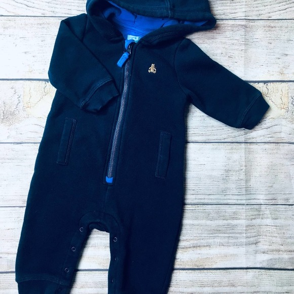 Gap sz 3-6m Navy sweatshirt one piece